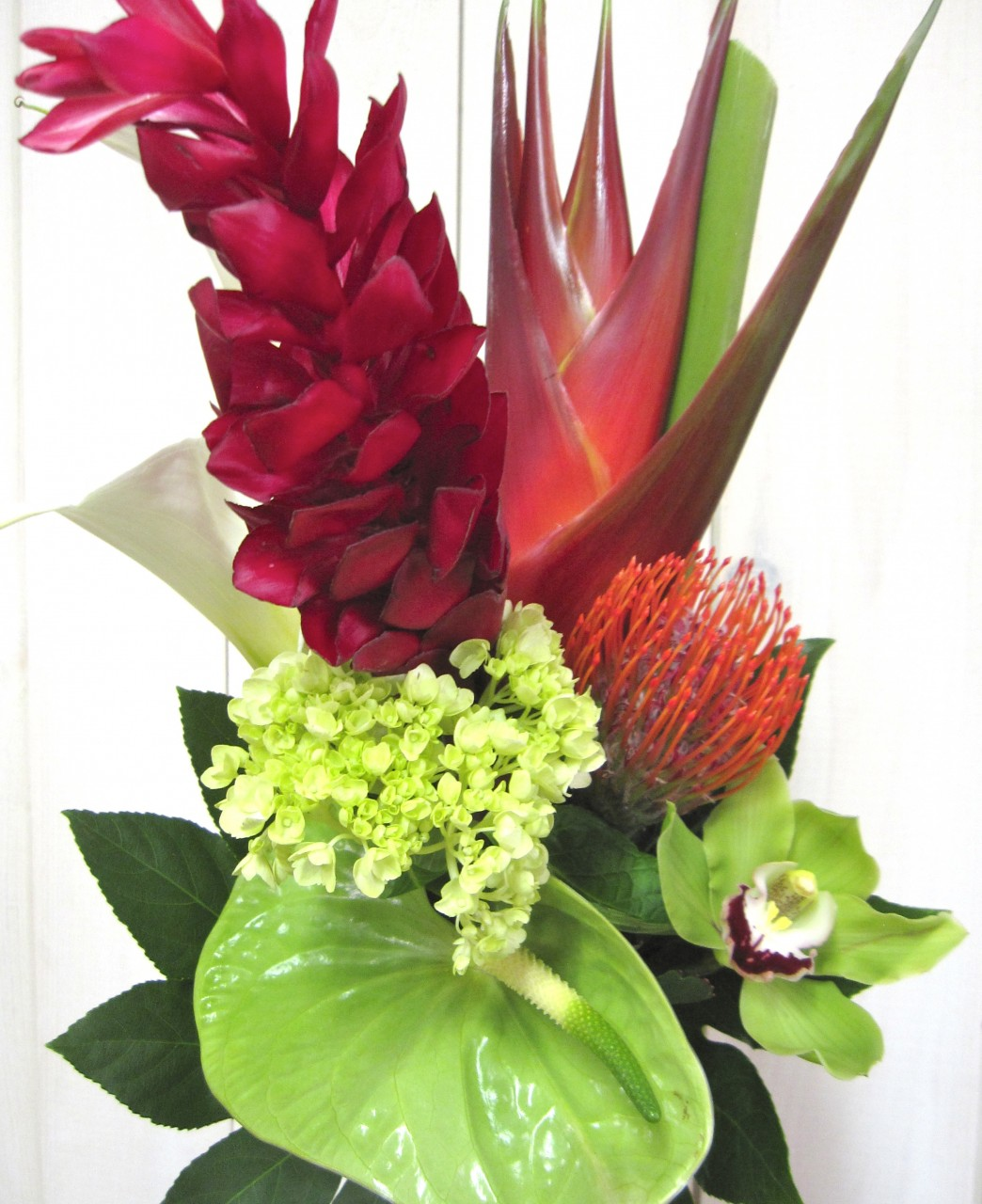 Exotic flowers 6525-3 Montreal Florist Abaca Canada